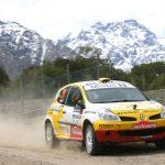 Cristóbal Ibarra se prueba la corona en el Rally Mobil 2015
