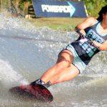 Valentina González volvió a batir el récord nacional de figuras del esquí náutico
