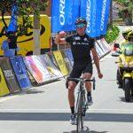 Elías Tello ganó la segunda etapa y lidera la Vuelta Ciclista del Maule