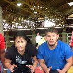Selección Chilena de Lucha Olímpica se prepara para el Sudamericano de Buenos Aires