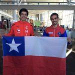 Ariel Mancilla y Héctor Toledo comenzaron su participación en el Mundial de Wushu