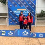 Team Chile de natación paralímpica suma nueve medallas en Brasil
