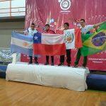 Cristóbal Torres se coronó campeón sudamericano de lucha en Buenos Aires