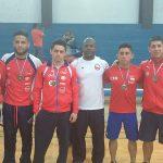 Chile cierra su participación en el Sudamericano de Lucha Olímpica con nuevas medallas