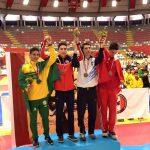 Ignacio Morales se coronó campeón sudamericano de taekwondo