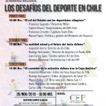 Seminario universitario analizará los desafíos del deporte chileno
