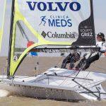 Equipo Grez marcha sexto en la Flota de Plata del Mundial de Veleros 49er