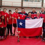 Chile ganó la Copa Tango 2015 de tenis de mesa paralímpico