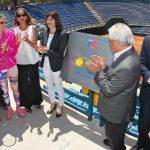 Court Central del Estadio Nacional fue bautizado con el nombre de Anita Lizana