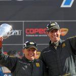 Cristóbal Vidaurre se coronó campeón de la categoría R3 del Rally Mobil