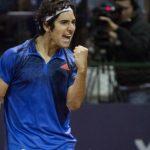 Christian Garín debutó con un triunfo en el Challenger de Montevideo