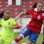 Chile cayó ante Venezuela en el Sudamericano Sub 20 de Fútbol Femenino