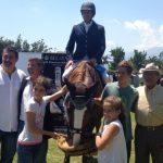 Bernardo Naveillán ganó el Gran Premio MacOnline 2015 de equitación