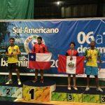 Alonso Medel se corona campeón sudamericano sub 15 de Badminton