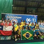 Chile logra medalla de plata por equipos en el Sudamericano de Badminton