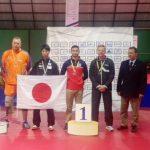 Valentín Letelier gana medalla de oro en Copa Costa Rica de Tenis de Mesa Paralímpico