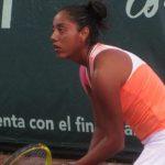 Daniela Seguel cayó en octavos de final del ITF de Caserta