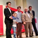 Familia de Carlo de Gavardo agradeció premio póstumo del CPD