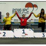 María Antonieta Ortíz gana medalla de oro en la Copa del Mundo de Pesas Paralímpicas