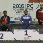 Sebastián Castro y Amaro Fica suman nuevas medallas para Chile en la Copa del Mundo de Pesas Paralímpicas