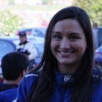 Javiera Román se prepara con clases de automovilismo de competición para el Rally Mobil