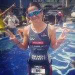 Pamela Tastets logra el puesto 11 en el IM 70.3 Panamá
