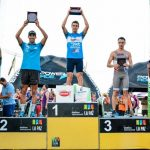 Felipe Barraza obtuvo el segundo lugar en el Triatlón de La Paz en Argentina