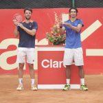 Julio Peralta y Horacio Zeballos ganaron el título de dobles del Challenger de Bucaramanga