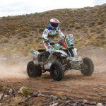 Ignacio Casale mantiene el primer lugar en quads tras cuarta jornada del Dakar