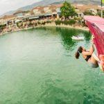 Este sábado finalizó el primer campeonato de escalada sobre agua