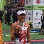Bárbara Riveros logra el bicampeonato del Ironman 70.3 Pucón