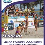 Coquimbo recibe este fin de semana el Circuito Sudamericano de Volleyball Playa