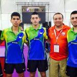 Selección Chilena Masculina mantiene el invicto en el Mundial por Equipos de Tenis de Mesa