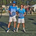 Nicolás Jarry y Juan Carlos Sáez se titularon campeones de dobles en el Futuro 6 USA
