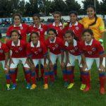 Chile debuta este martes en el Sudamericano de Fútbol Femenino Sub 17
