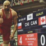 Andrés Ayub logra medalla de bronce en el Preolímpico de Lucha Olímpica