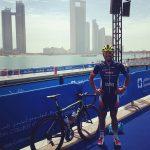 Felipe Van de Wyngard ocupó el puesto 56 en Abu Dhabi