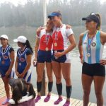 Chile logra 6 medallas de oro en el comienzo del Sudamericano de Remo