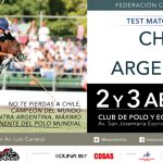 Chile y Argentina se enfrentan en Test Match Internacional de Polo