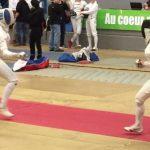 Caterin Bravo realizó una interesante actuación en torneo de esgrima francés