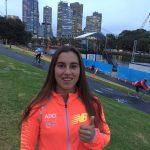 Valentina González gana medalla de bronce en categoría junior del Moomba Masters