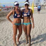 Finalizó la participación chilena en la cuarta fecha del Sudamericano de Volleyball Playa