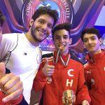 Juvenal Alarcón gana medalla de bronce en torneo satélite de esgrima en Cancún