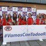Las deportistas nacionales presentaron campaña en redes sociales para los Juegos Olímpicos