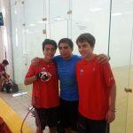 Chile comenzó su participación en el Panamericano de Racquetball