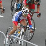 Paola Muñoz se alista para una nueva etapa del Circuito Mundial de Ciclismo en Ruta