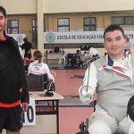 Angelo Vidal logra el quinto puesto en la Copa Brasil de esgrima paralímpica