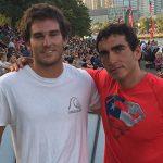 Rodrigo Miranda y Emile Ritter disputarán la final de salto del Moomba Masters
