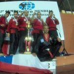 Chile logra el título por equipos en Mundial de Artes Marciales en Paraguay