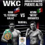 Iván Galaz defenderá su título mundial de kickboxing en Puente Alto